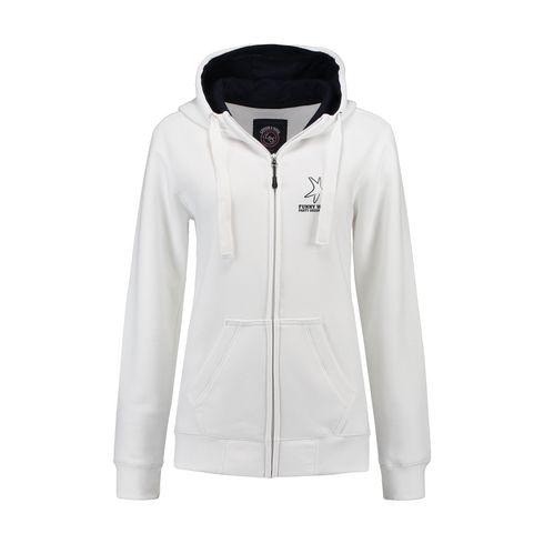 Billede af L&S Heavy Sweater Hooded Jacket Uni dame jakke
