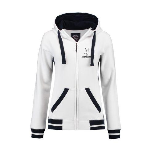 Billede af L&S Heavy Sweater Hooded Jacket Contrast dame jakke