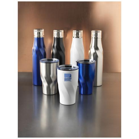 Hugo 650 ml koper vacuüm geïsoleerde drinkfles met auto verzegeling