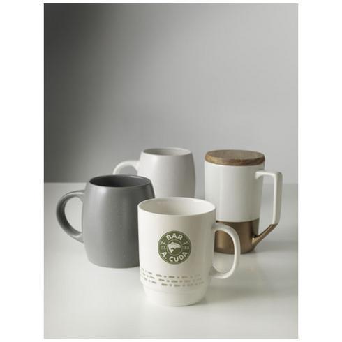 Tahoe keraaminen muki puukannella teelle ja kahville