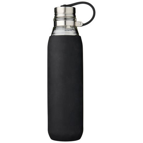 Oasis 650 ml glass sport bottle