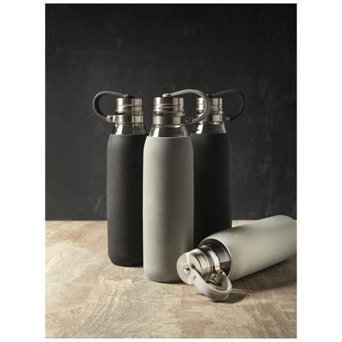 Oasis 650 ml glass sport bottle