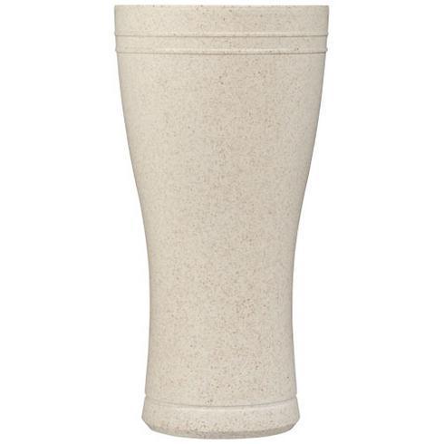Tagus 400 ml Trinkbecher aus Weizenstroh