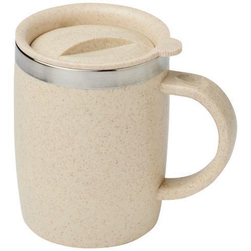 Wey 400 ml wheat straw insulated mug