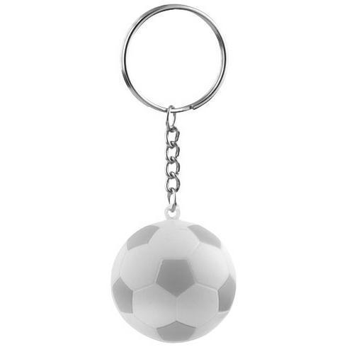 Striker voetbalsleutelhanger