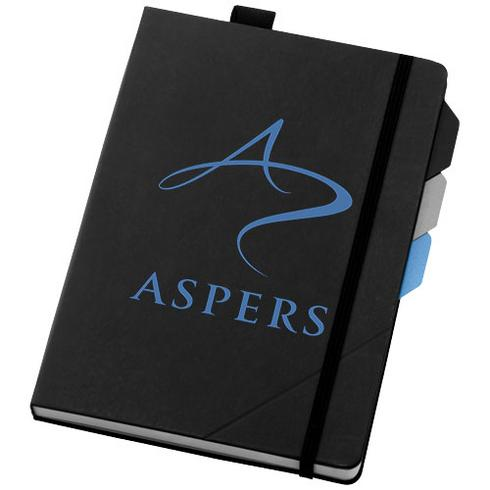 Alpha notebook with page dividers