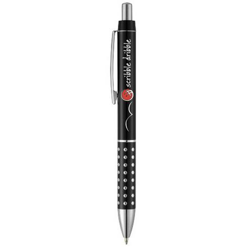Bling ballpoint pen with aluminium grip