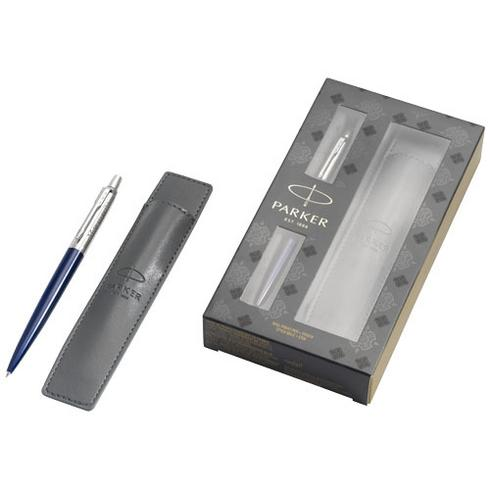 Jotter royal blue gift set with pen and pouch