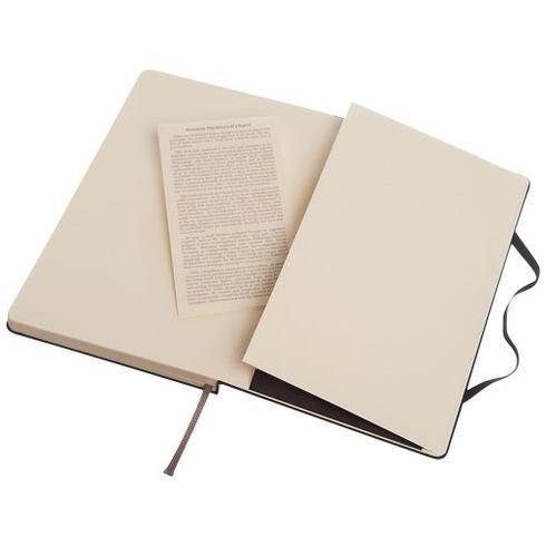 Classic L inbunden anteckningsbok – prickad