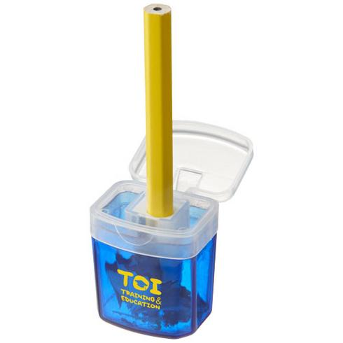 Sharpi sharpener with container