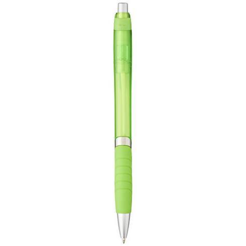Turbo kuglepen med gummigreb