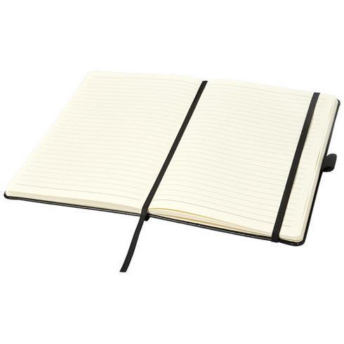 Coda A5 notisbok i skinnutseende med stivt omslag