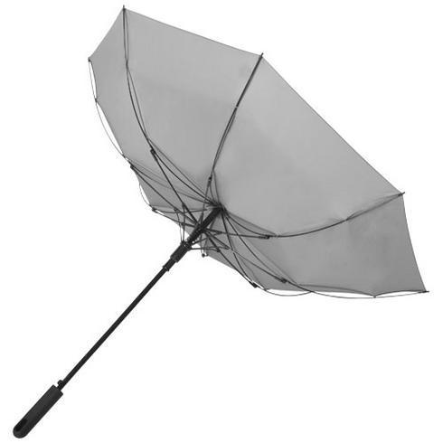 """Noon 23"""" vindfast paraply med automatisk åbning"""