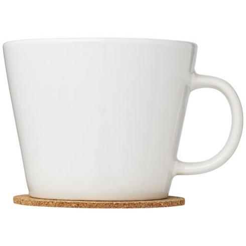 Hartley 2-piece mug set with coaster