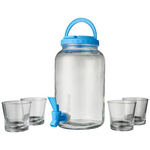 Festi 5-piece beverage dispenser set