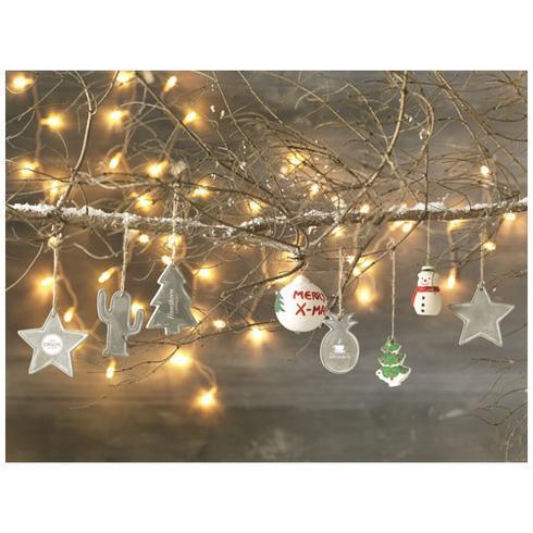 Seasonal christmas tree ornament