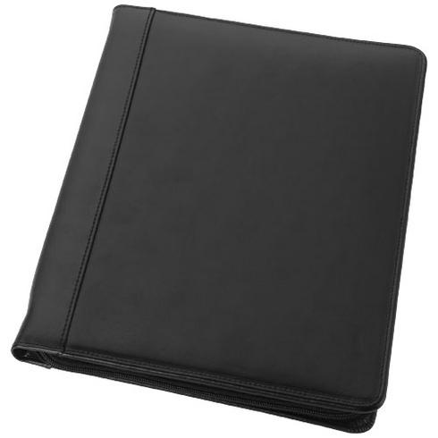 Harvard A4 leather zippered portfolio