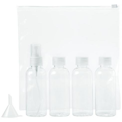 Tokyo airline approved travel bottle set