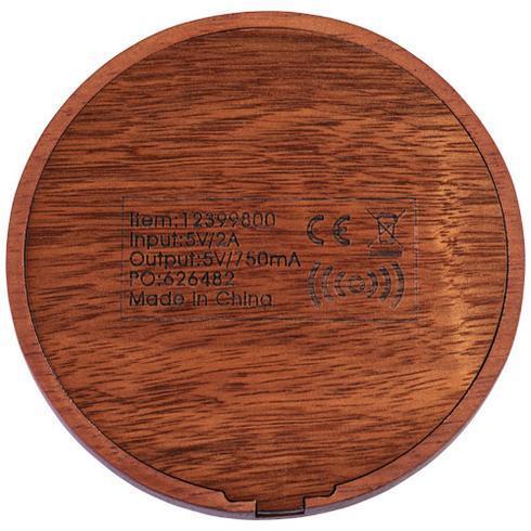 Bora houten, draadloos oplaadstation