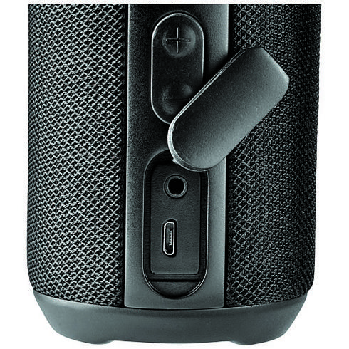 Rugged fabric waterproof Bluetooth® speaker