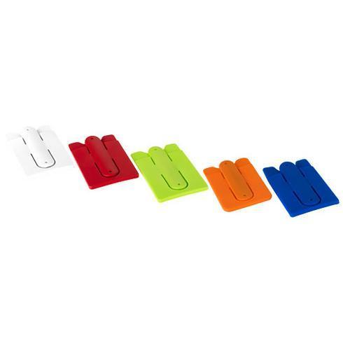 Stue silikone mobilholder og tegnebog