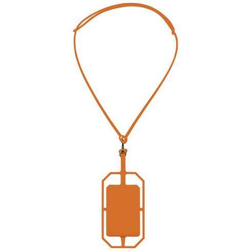 Fort rock siliconen RFID kaarthouder met lanyard