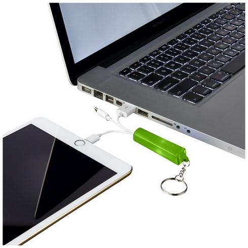 Route 3-in-1 light-up charging cable with keychain