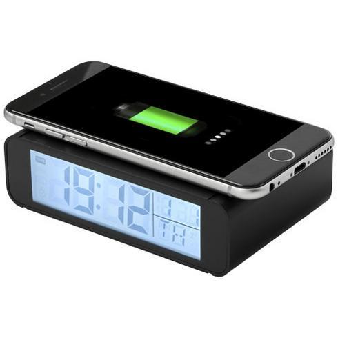 Seconds wireless charging clock
