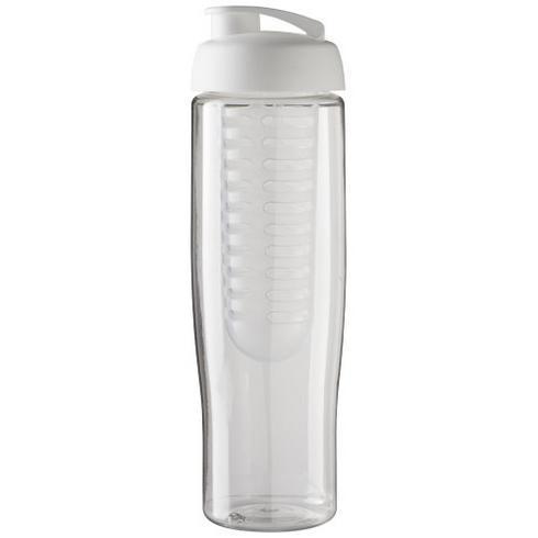 H2O Tempo® 700 ml sportsflaske og infuser med flipp-lokk