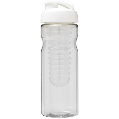 H2O Base® 650 ml sportflaska med uppfällbart lock och fruktkolv