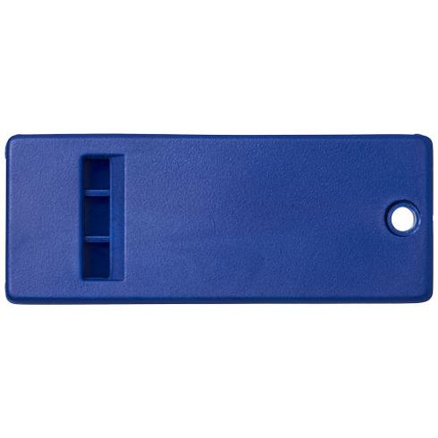 Wanda flat whistle with large branding surface