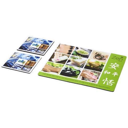 Q-Mat® musemåtte og bordskåner-sæt kombo 3