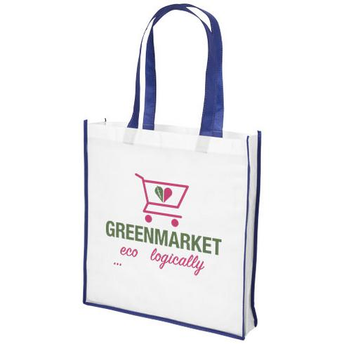 Contrast large non-woven shopping tote bag