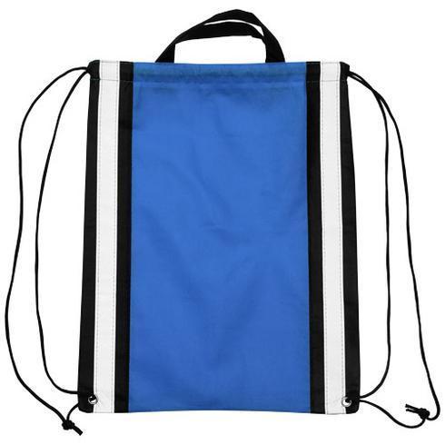 Reflective non-woven drawstring backpack