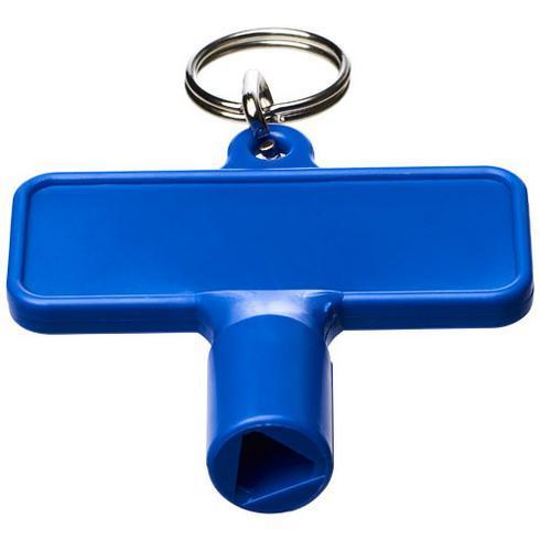 Porte-clés Maximilian pour clé utilitaire universelle rectangulaire