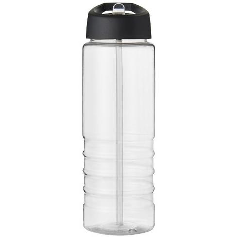 H2O Treble 750 ml spout lid sport bottle