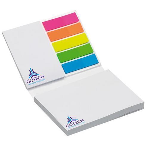 Combi Notiz- und Markierungs-Set mit Softcover