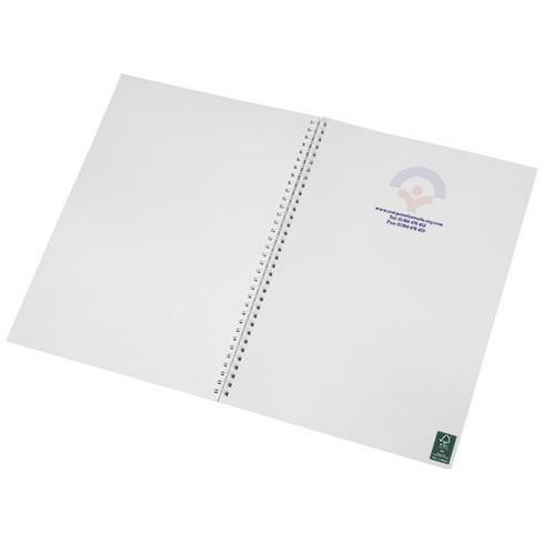 Desk-Mate® wire-o A4 notebook PP cover