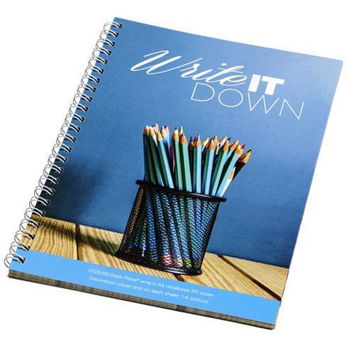 Desk-Mate® spiral A5 notebook