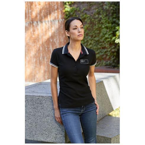 Deuce Poloshirt mit weißem Rand für Damen