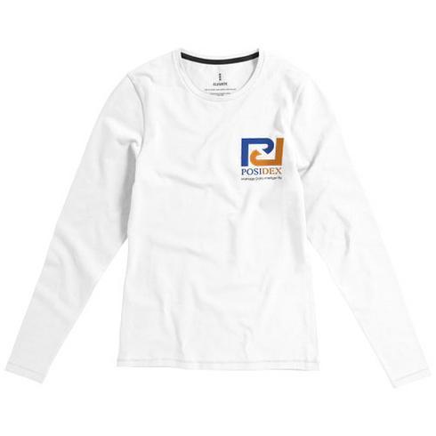 T-shirt bio manches longues femme Ponoka