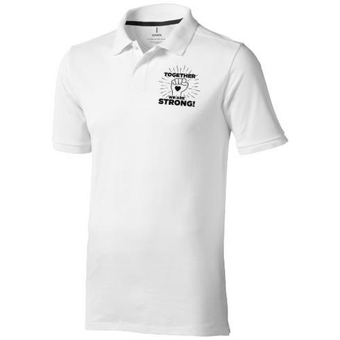 Calgary short sleeve men's polo