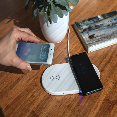 Double 5W wireless charger