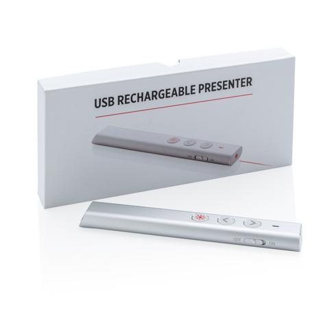USB re-chargeable presenter