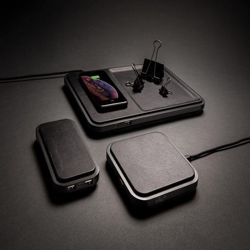 Swiss Peak luxury wireless 10.000 mAh powerbank