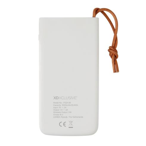 Aria 8.000 mAh 5W wireless charging powerbank