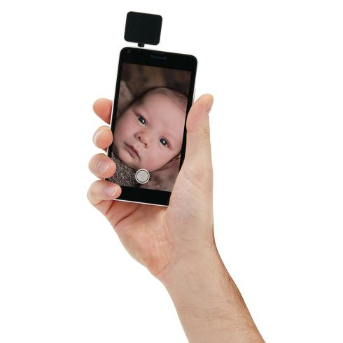 Mobile phone flashlight